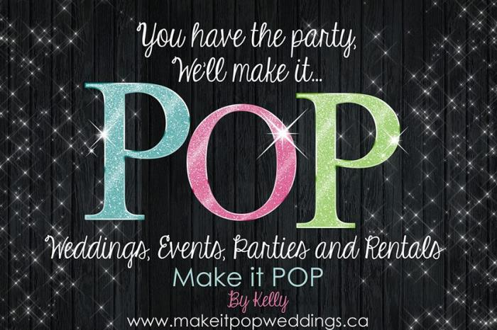 Make It Pop Weddings and Events