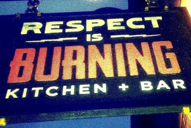 Respect is Burning
