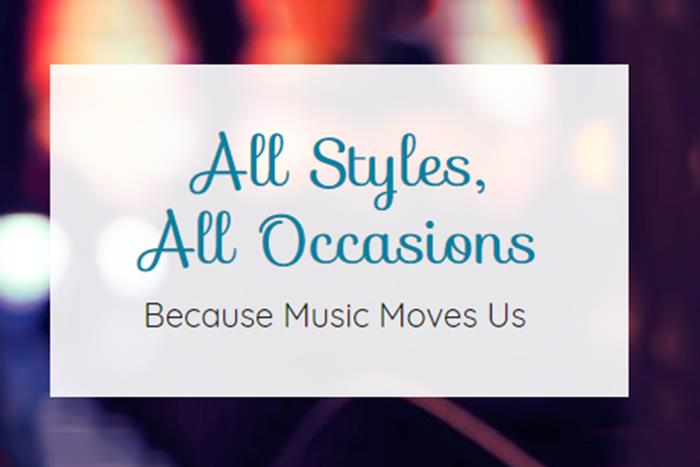 All Styles, All Occasions